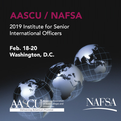 2019 AASCU/NAFSA Institute for Senior International Officers