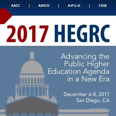 Higher Education Government Relations Conference 2017