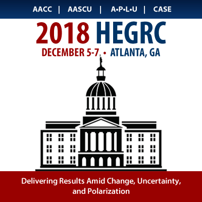 2018 Higher Education Government Relations Conference