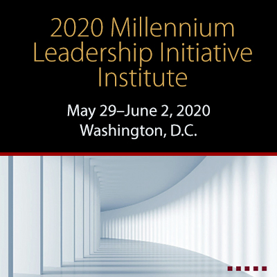 2020 Millennium Leadership Institute
