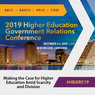 2019 Higher Education Government Relations Conference